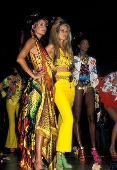 Helena, Claudia y Naomi. El mejor tributo a Gianni Versace
