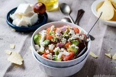 Avocado Feta Salsa | Diethood