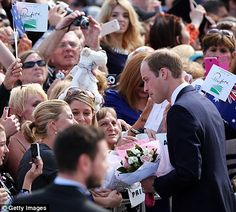 George did not join the duke and duchess on this leg of their Australian tour. He remained in Canberra with his nanny and Kate and William w...