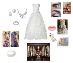 """""""Dream Wedding"""" by and-actchs on Polyvore featuring David Tutera, Avance, Lime Crime, Kobelli and Bling Jewelry"""