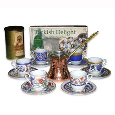 Turkish Coffee | Drinking turkish coffee is really enjoyable especially after meals or with friends.It has a different and hard flavor.