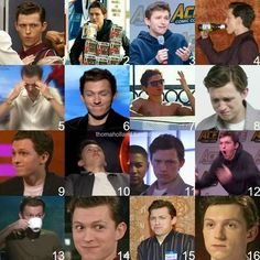 Which Tom Holland are you today?>> I'm always Tom #14