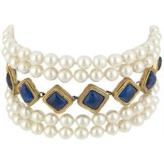 vintage Chanel jewels | Chanel Vintage Pearl Choker | Chanel Accessories from Bag Borrow or ...