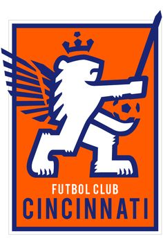 FC Cincinnati's logo looks like it's jacking off a dick while cupping its balls.