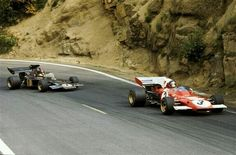 1972 Jacky Ickx and Emerson Fittipaldi