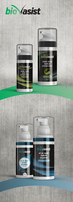 #bioasist #cosmetic #box #package #shampoo #concept #design