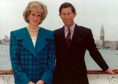 Charles and Diana on the 1985 tour of Italy
