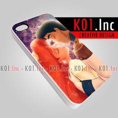 Disney Little Mermaid Galaxy  iPhone 4/4s/5 Case  by K01Inc, $15.50