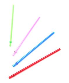 Extend the life of any 16-ounce tumbler with these handy replacement straws. This bold and brightly colored foursome is a great choice to keep sipping in style.