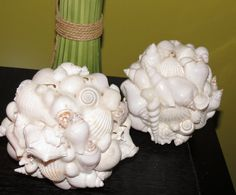 White Decorative Shell Bulbs on Etsy, $50.00