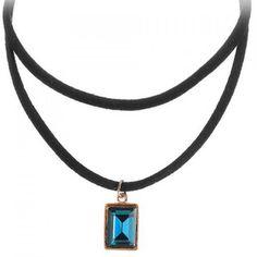 Geometric Multilayered Choker Necklace