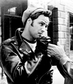 Marlon Brando - The Wild One (1953) Handsome Actors d1878359d5a