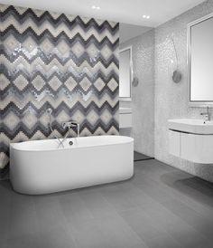 Bad Mit Mosaikfliesen zeitgenössische bad design wand mit mosaikfliesen gestalten