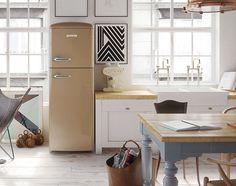 Kühlschrank Vintage Design : Faszinierende bilder zu u eretro kühlschranku c kitchen dining