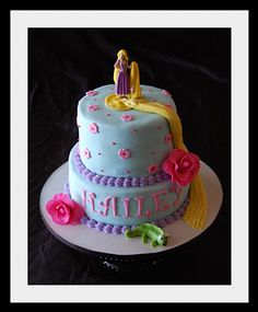 @Misty McArthur---Ally would love this! Tangled Birthday cake