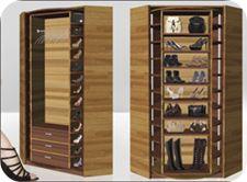 #Genius home design. Laze Lee rotating shoe rack.