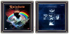 ♫ Rainbow - Rising (1976) -   Album Art: Ken Kelly (painting), Fin Costello (photography) http://www.selected4u.net/caa/rainbow/rising/play.html