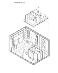When a sociable urban couple moves into an apartment that's just 35.7 square meters (384 square feet) there are a lot of questions for their chosen interior des