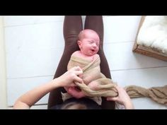 Newborn Pea Pod Wrap Tutorial - YouTube