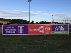 Outdoor Full Colour PVC Banner of all sizes to Promote you Event, Business or Service. Contact us at info@image-it.co.uk