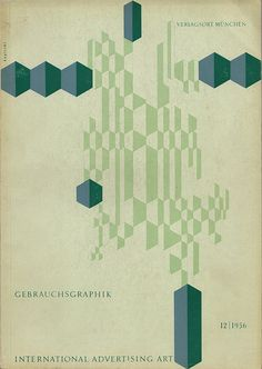 Gebrauchsgraphik 1956 12 Cover | Flickr - Photo Sharing!