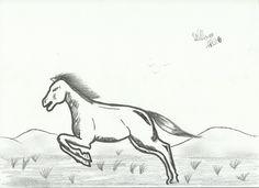 Desenho de cavalo