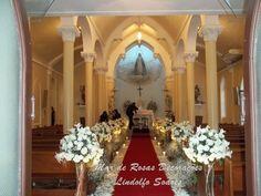 Mar de Rosas Decorações Lindolfo Soares: Igreja Nossa Senhora das Graças/ Botafogo