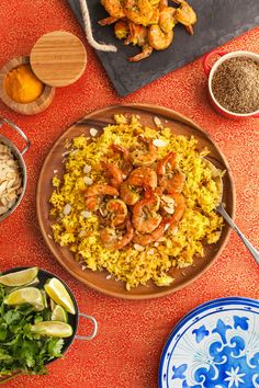 shrimp Biryani recipe starts with a flavorful Indian Shrimp marinade and is served peel and eat style. It's so good, you won't want to stop licking your fingers.