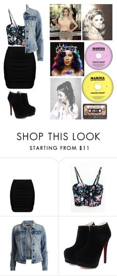 """marina ❤"" by caitlyn-hudson ❤ liked on Polyvore featuring moda, Zizzi y VILA"