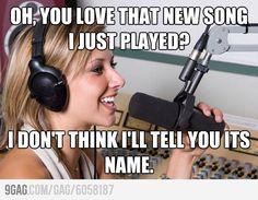 Annoying DJ.