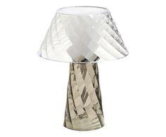 #Lampada da tavolo in acrilico tata grigio colore Grigio  ad Euro 65.00 in #Emporium srl #Lampsluminaires lampsluminaires