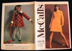 Vintage McCalls Fashion Review Catalogue October 1968