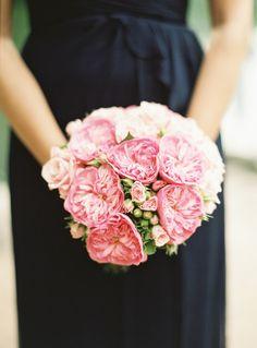 Juliet rose bouquet: http://www.stylemepretty.com/2015/03/02/classic-new-york-city-wedding-at-the-plaza-hotel/   Photography: Judy Pak - http://judypak.com/