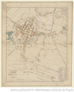Plan der Stadt Oels, nach der Aufnahme der Stadtvermessung 1882/3 -- 1882 -- cartes Planer, Vintage World Maps, City