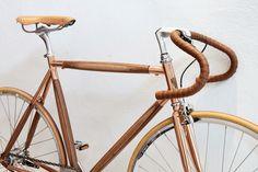 Wood n Copper / dots wooden bike by DotsObject  www.dotsobject.com