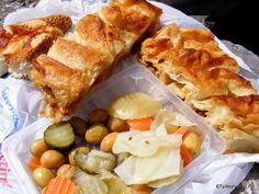 #Turkish Food - #Börek & #Pickles