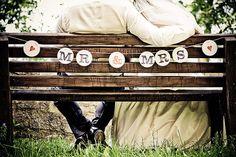 MR & MRS GirLANDE / garland wedding bunting / Hochzeitsgirlande