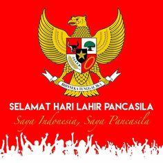 Selamat Hari Lahir Pancasila bikin Indonesia makin Hebat ! #indonesia #bhinnekatunggalika #pancasila #nkri #nkriberpancasilahargamati #ketuhananyangmahaesa #kemanusiaanyangadildanberadap #persatuanindonesia #kerakyatanyangdipimpinolehhikmatkebijaksanaandalampermusiawaratandanperwakilan #keadilansosialbagiseluruhrakyatindonesia #berbedabedatetapitetapsatujua n