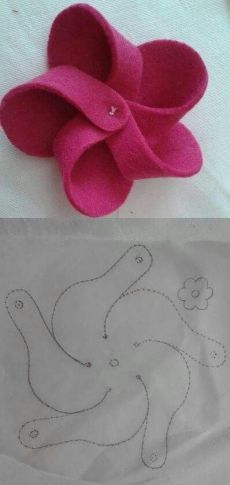 398 × 839 Pixel Source by ingeesseling 14 Beautiful & Creative Craft Ideas Using Fake Flowers Easy wa to make felt flowers. Alternate flower idea for hats Craft Ideas Using Fake Flowers - Flowers are the way to decorate any space, on the downside they do Handmade Flowers, Diy Flowers, Fabric Flowers, Paper Flowers, Felted Flowers, Flower Diy, Flower Ideas, Fabric Crafts, Sewing Crafts