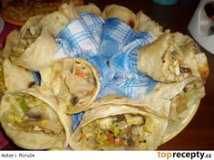 Směs do tortily Tacos, Snack Recipes, Chips, Mexican, Meat, Chicken, Ethnic Recipes, Food, Tortillas