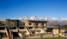 Offering free WiFi and beautiful alpine or garden views, Garden Court. New Zealand Hotels, Queenstown New Zealand, South Island, Hotel Reviews, Bangkok, Trip Advisor, Mansions, Architecture, House Styles