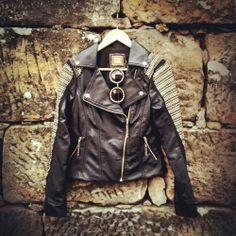 FashionCoolture Moikana leather jacket