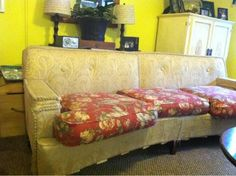 "ONLY ON CRAIGSLIST! ""Free curved antique couch!""  People are Nuts - imagine walking into someone's house and sitting on THIS! LOL"