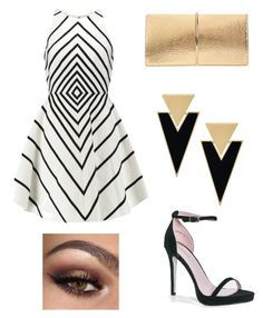 """👠💍👑💅"" by angela229 ❤ liked on Polyvore featuring Yves Saint Laurent, Halston Heritage, Nina Ricci and Boohoo"