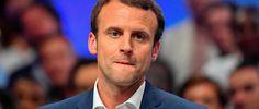Emmanuel Macron réinvente le café du commerce