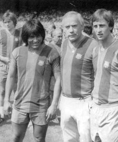 Sotil, Weisweiler y Cruyff.