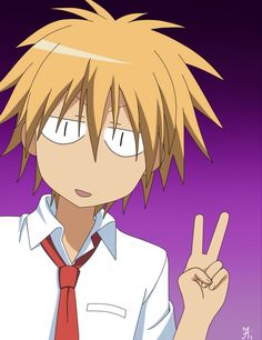 "Anime/Manga: maid sama character: takumi, funny face, he's like "" Misaki, Usui, Anime Chibi, Anime Manga, Maid Sama Manga, Anime Expo, Kaichou Wa Maid Sama, Guy Drawing, Hot Anime Guys"
