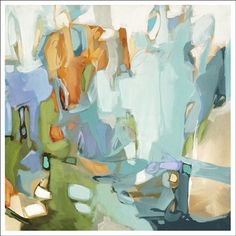 Manhattan Memories by Christina Baker #art #paintings