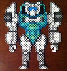 MTMTE Tailgate Transformer Perler Beads by LottaDots on Etsy
