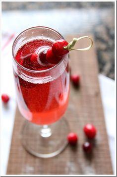 Sparkling Cranberry Rose | Doughmesstic